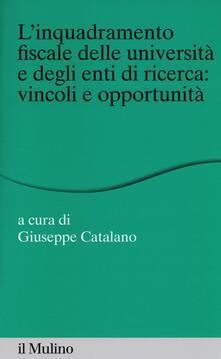 Equilibrifestival.it L' inquadramento fiscale delle università e degli enti di ricerca: vincoli e opportunità Image