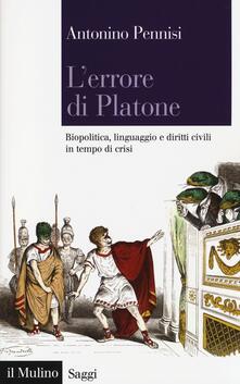 Librisulladiversita.it L' errore di Platone. Biopolitica, linguaggio e diritti civili in tempo di crisi Image