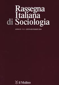 Rassegna italiana di sociologia (2014). Vol. 1 - copertina