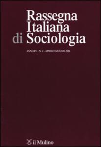 Rassegna italiana di sociologia (2014). Vol. 2 - copertina