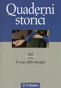 Quaderni storici (2014). Vol. 1 - copertina