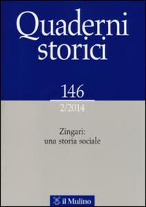 Quaderni storici (2014). Vol. 2: Zingari: una storia sociale. - copertina