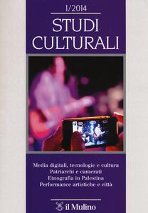 Studi culturali (2014). Vol. 1 - copertina