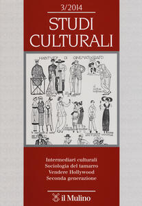 Studi culturali (2014). Vol. 3 - copertina
