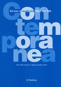 Contemporanea (2014). Vol. 4 - copertina