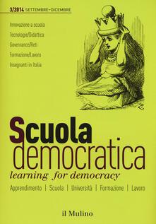 Listadelpopolo.it Scuola democratica. Learning for democracy (2014). Vol. 3: Settembre-dicembre. Image