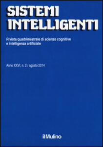 Sistemi intelligenti (2014). Vol. 2 - copertina
