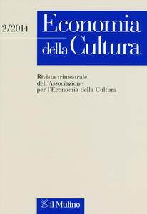 Economia della cultura (2014). Vol. 2 - copertina