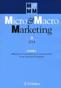 Micro & Macro Marketing (2014). Vol. 3 - copertina