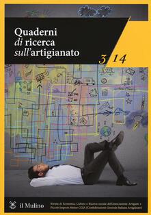 Grandtoureventi.it Quaderni di ricerca sull'artigianato (2014). Vol. 3 Image