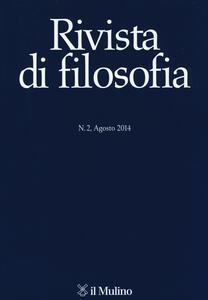 Rivista di filosofia (2014). Vol. 2 - copertina