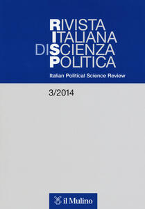 Rivista italiana di scienza politica (2014). Vol. 3 - copertina