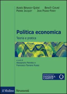Libro Politica economica. Teoria e pratica