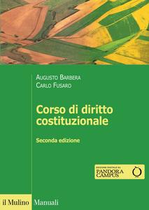 Libro Corso di diritto costituzionale Augusto Barbera , Carlo Fusaro