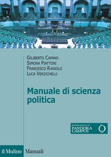 Secchiarapita.it Manuale di scienza politica Image