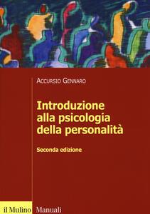 Introduzione alla psicologia della personalità - Gennaro Accursio - copertina