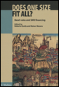 Libro Does one size fit all? Basel rules and SME financing Roberto Guida , Rainer Stefano Masera
