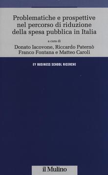 Squillogame.it Problematiche e prospettive nel percorso di riduzione della spesa pubblica in Italia Image