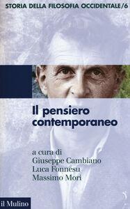 Foto Cover di Storia della filosofia occidentale. Vol. 6: Il pensiero contemporaneo., Libro di  edito da Il Mulino