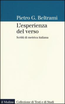Radiosenisenews.it L' esperienza del verso. Scritti di metrica italiana Image