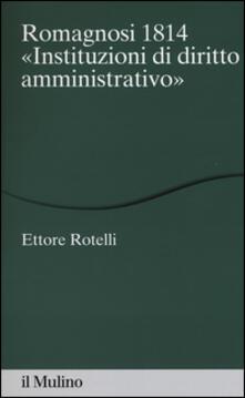 Camfeed.it Romagnosi 1814. «Instituzioni di diritto amministrativo» Image