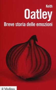 Breve storia delle emozioni - Keith Oatley - copertina