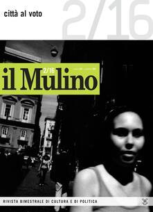 Il Mulino. Vol. 484: Città al voto. - copertina
