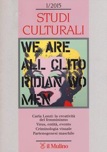 Studi culturali (2015). Vol. 1