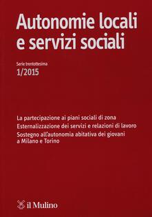 Birrafraitrulli.it Autonomie locali e servizi sociali (2015). Vol. 1 Image