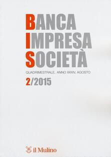Banca impresa società (2015). Vol. 2 - copertina
