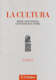 Daddyswing.es La cultura. Rivista di filosofia, letteratura e storia (2015). Vol. 3 Image