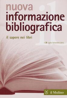 Grandtoureventi.it Nuova informazione bibliografica (2015). Vol. 3 Image