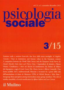 3tsportingclub.it Psicologia sociale (2015). Vol. 3 Image