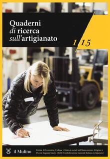 Voluntariadobaleares2014.es Quaderni di ricerca sull'artigianato (2015). Vol. 1 Image