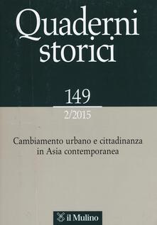 Nordestcaffeisola.it Quaderni storici (2015). Vol. 2 Image