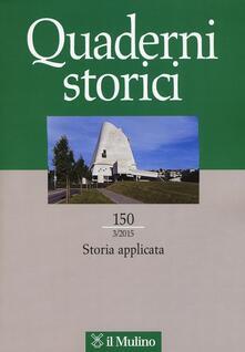 Quaderni storici (2015). Vol. 3 - copertina