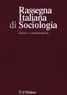Milanospringparade.it Rassegna italiana di sociologia (2015). Vol. 1 Image