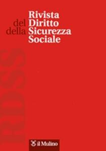 Rivista del diritto della sicurezza sociale (2015). Vol. 1