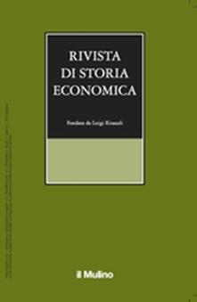 Rivista di storia economica (2015). Vol. 1 - copertina