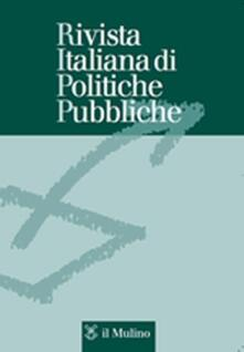Rivista italiana di politiche pubbliche (2015). Vol. 1 - copertina