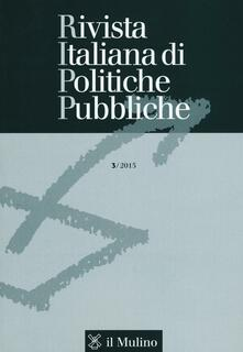 Winniearcher.com Rivista italiana di politiche pubbliche (2015). Vol. 3 Image