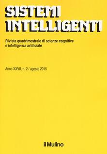 Sistemi intelligenti (2015). Vol. 2 - copertina