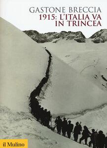 Foto Cover di 1915: l'Italia va in trincea, Libro di Gastone Breccia, edito da Il Mulino