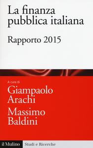 Libro La finanza pubblica italiana. Rapporto 2015