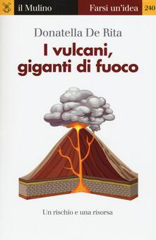I vulcani, giganti di fuoco - Donatella De Rita - copertina