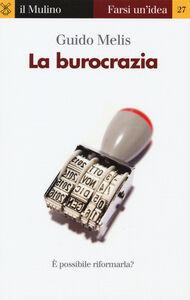 Libro La burocrazia Guido Melis