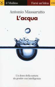 Libro L' acqua Antonio Massarutto