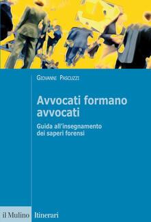 Letterarioprimopiano.it Avvocati formano avvocati Image