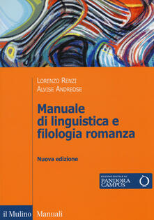 Mercatinidinataletorino.it Manuale di linguistica e filologia romanza. Con e-book Image