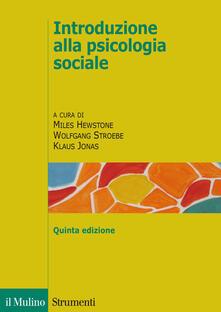 Introduzione alla psicologia sociale - copertina